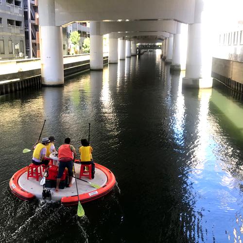 β本町橋から水上さんぽ
