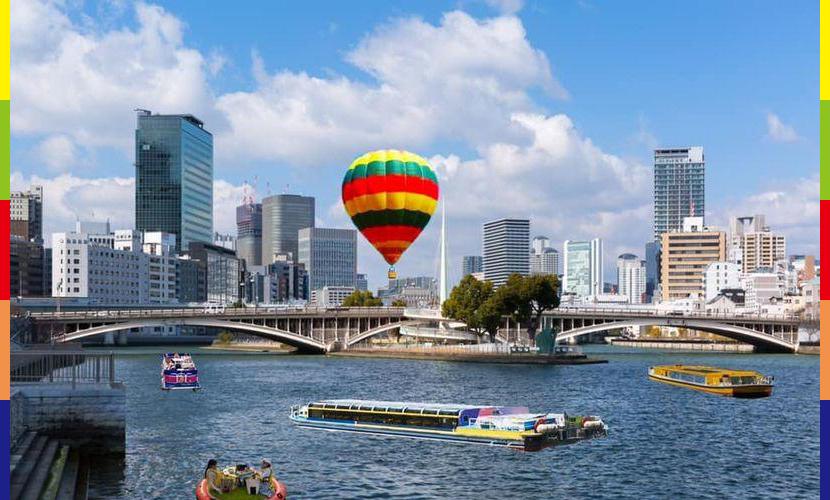水都大阪熱気球体験